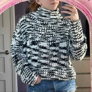 Thick turtle neck sweater